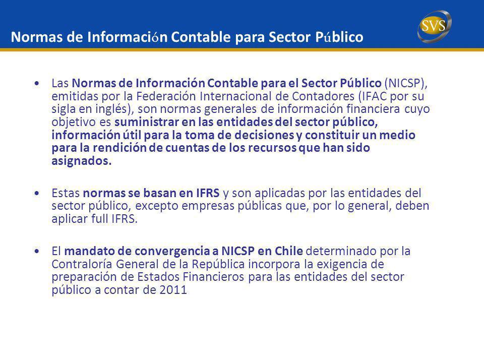 Normas de Información Contable para Sector Público