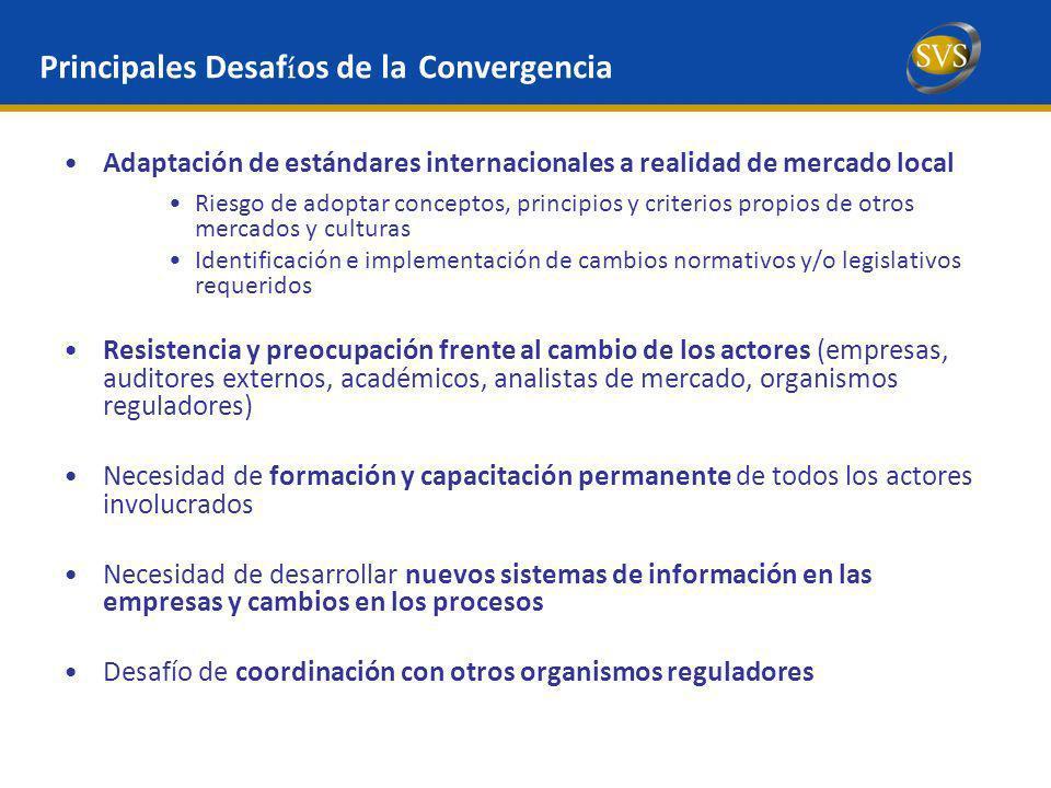 Principales Desafíos de la Convergencia
