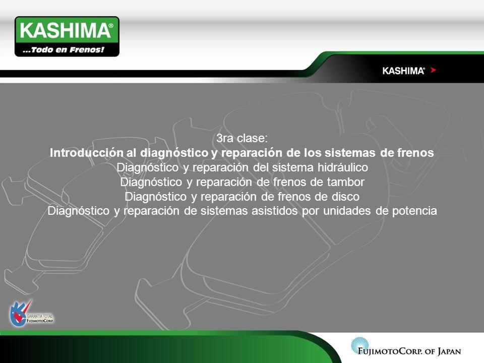 Introducción al diagnóstico y reparación de los sistemas de frenos