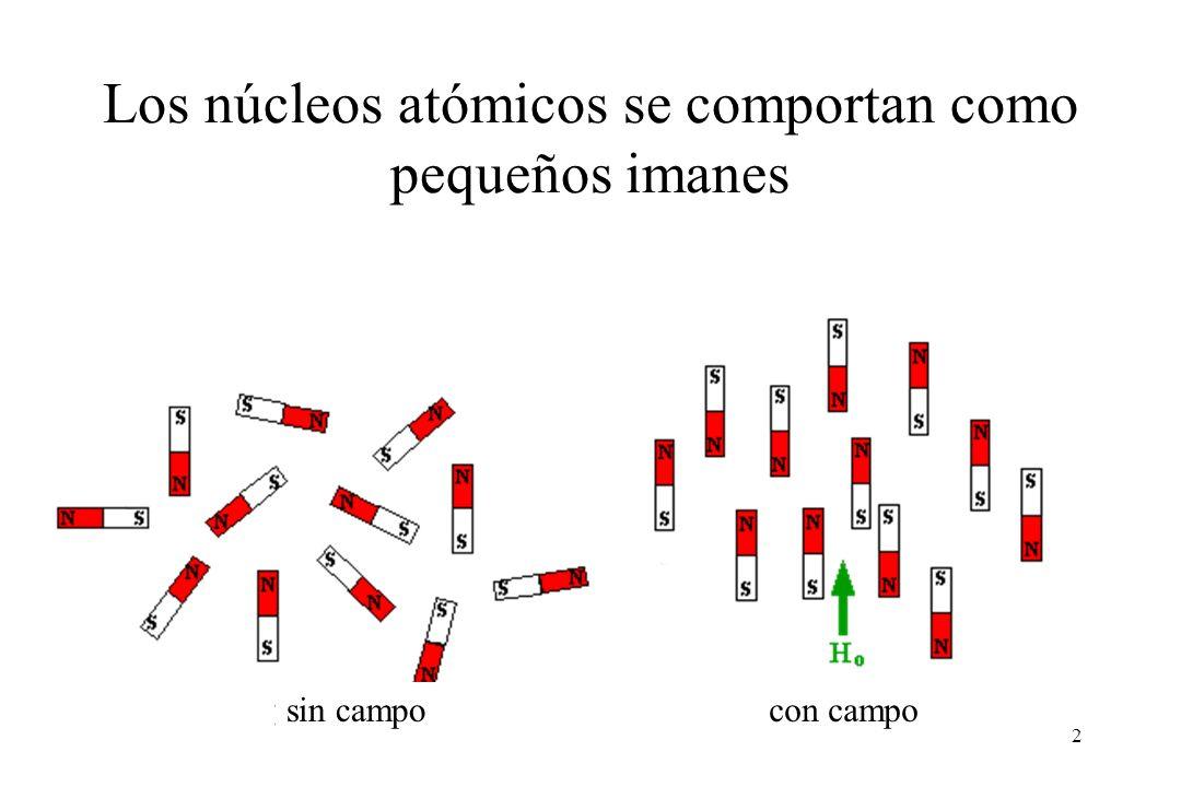Los núcleos atómicos se comportan como pequeños imanes