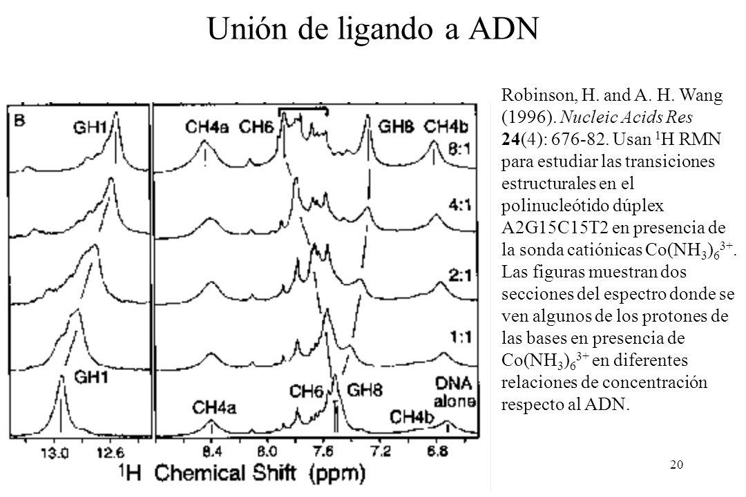 Unión de ligando a ADN
