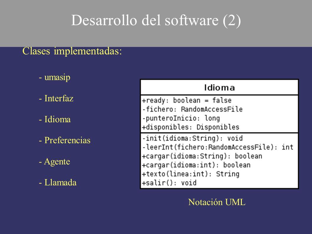 Desarrollo del software (2)