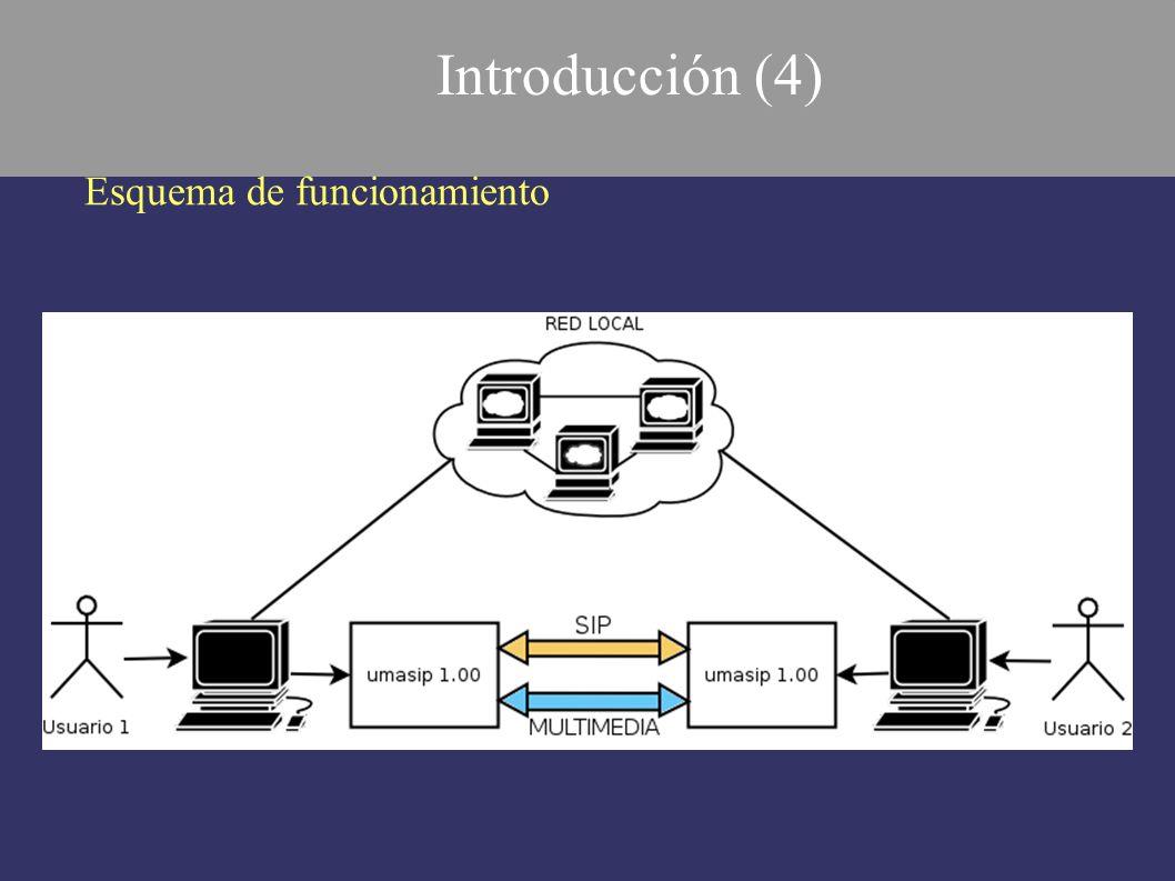 Introducción (4) Esquema de funcionamiento