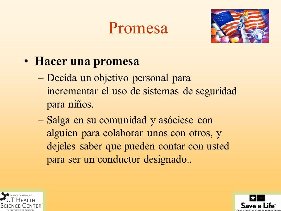 Promesa Hacer una promesa