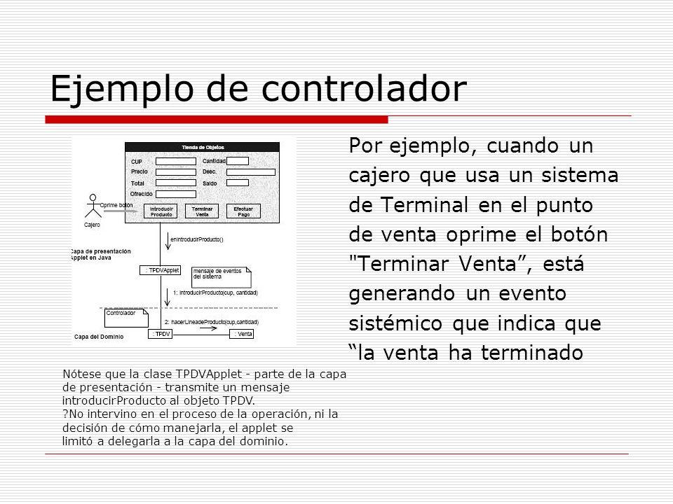Ejemplo de controlador