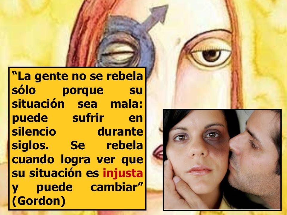 La gente no se rebela sólo porque su situación sea mala: puede sufrir en silencio durante siglos.