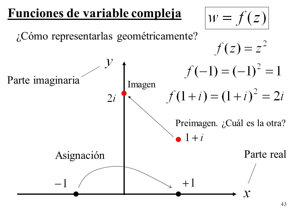 Funciones de variable compleja