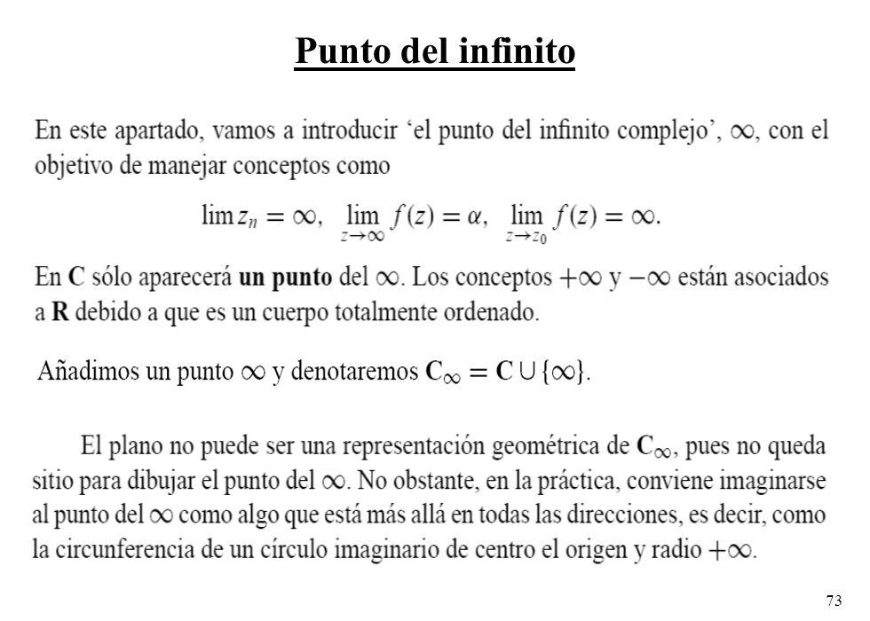Punto del infinito
