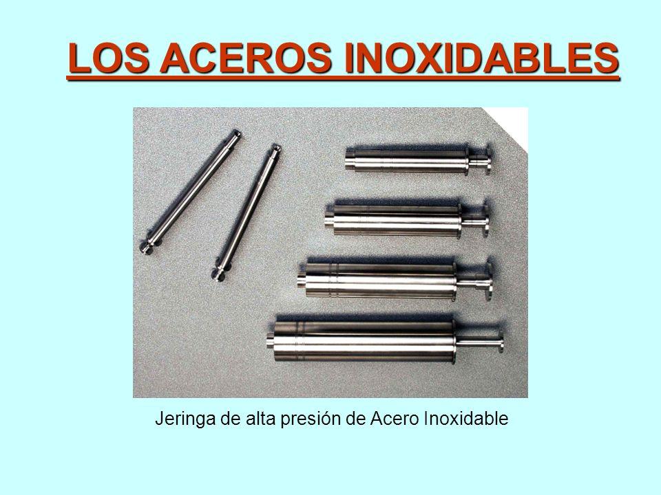 LOS ACEROS INOXIDABLES