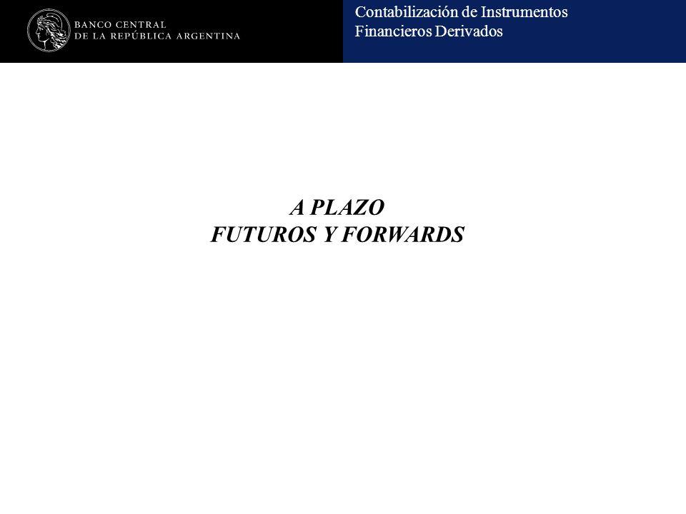 A PLAZO FUTUROS Y FORWARDS