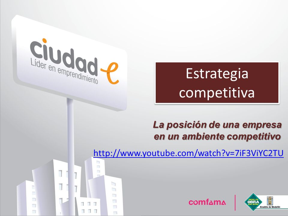 La posición de una empresa en un ambiente competitivo