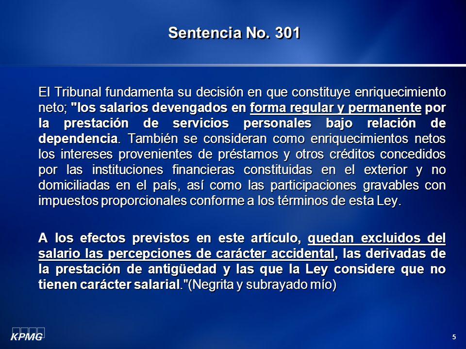 Sentencia No. 301