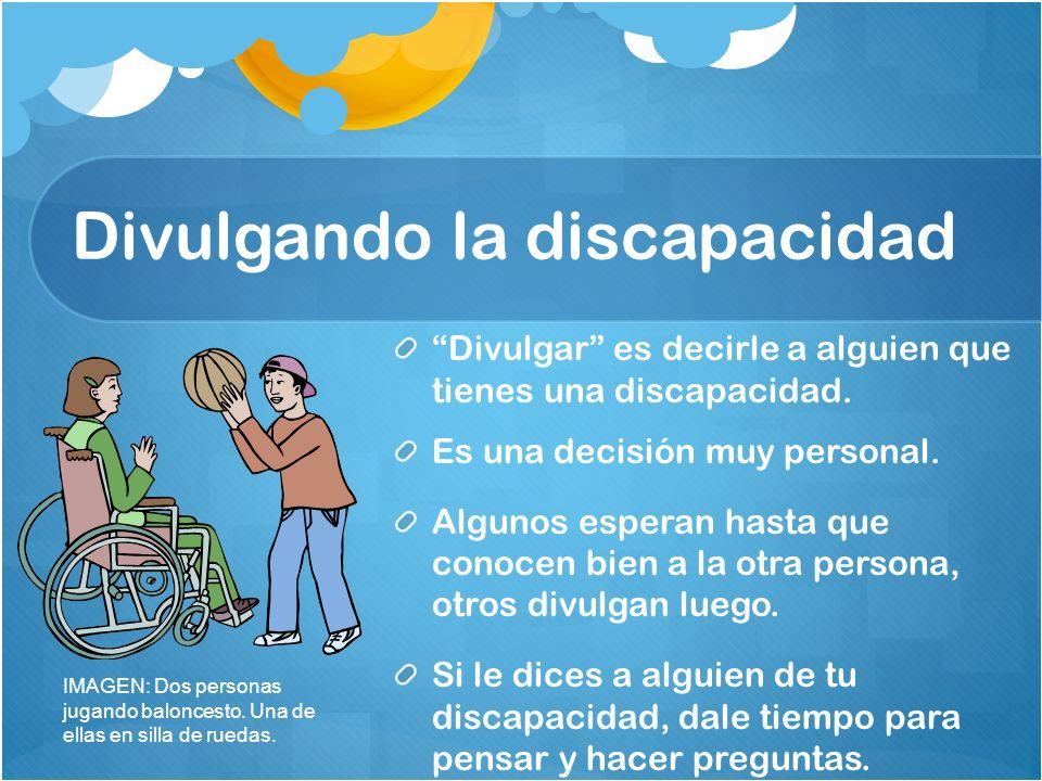 Divulgando la discapacidad