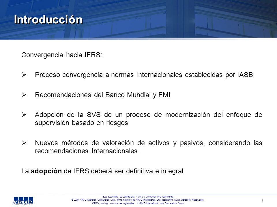 Introducción Convergencia hacia IFRS: