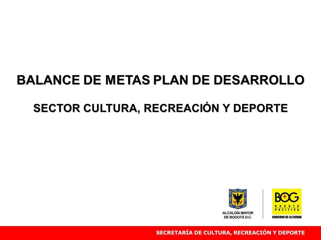 BALANCE DE METAS PLAN DE DESARROLLO