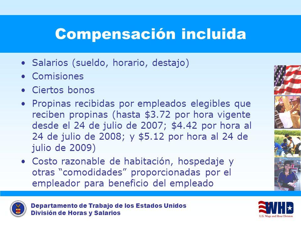 Compensación incluida