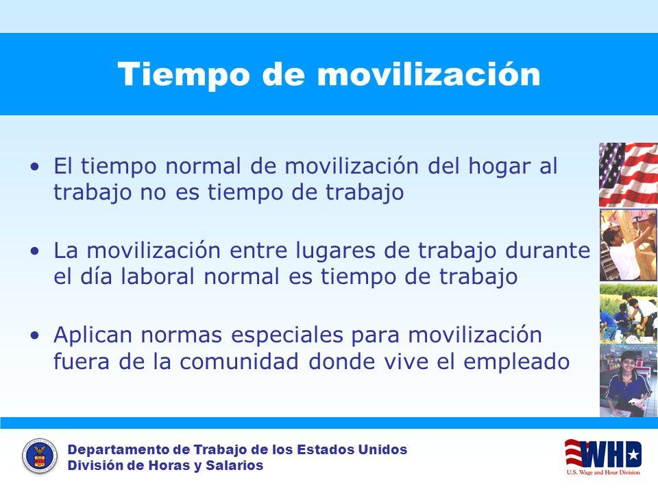 Tiempo de movilización