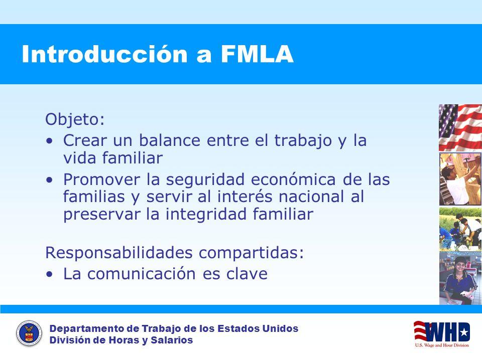 Introducción a FMLA Objeto: