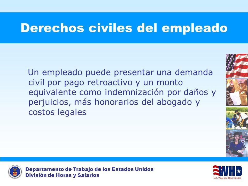 Derechos civiles del empleado