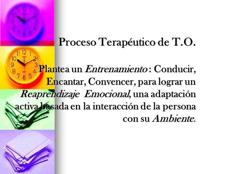 Proceso Terapéutico de T. O