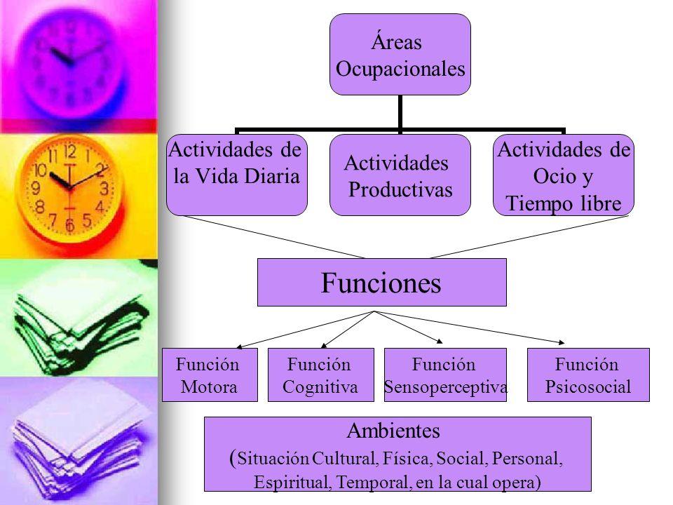 Funciones Ambientes (Situación Cultural, Física, Social, Personal,