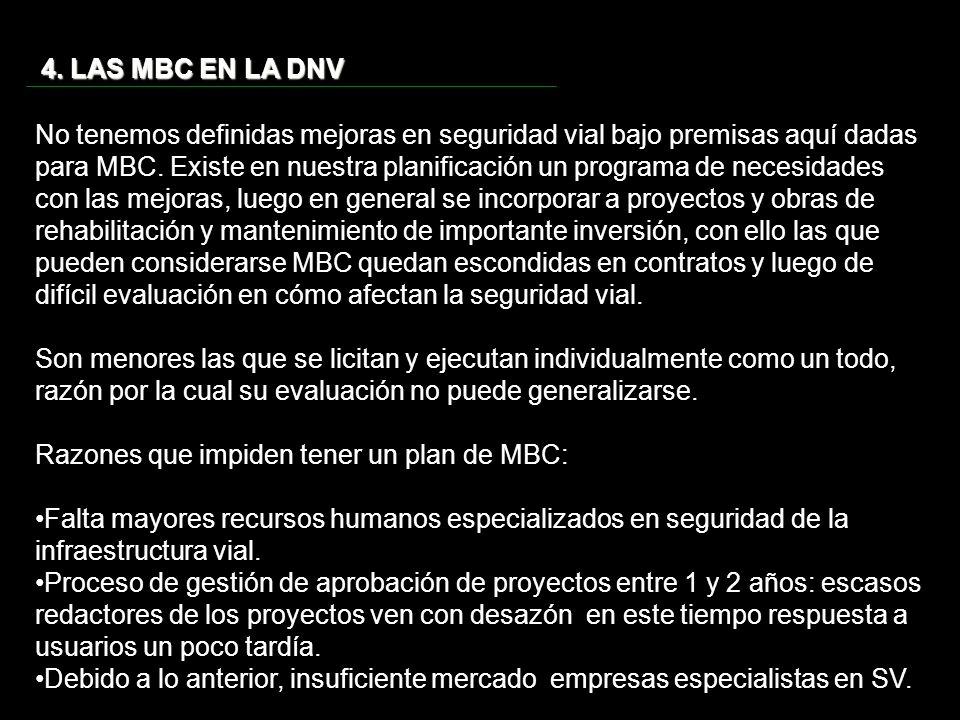 4. LAS MBC EN LA DNV