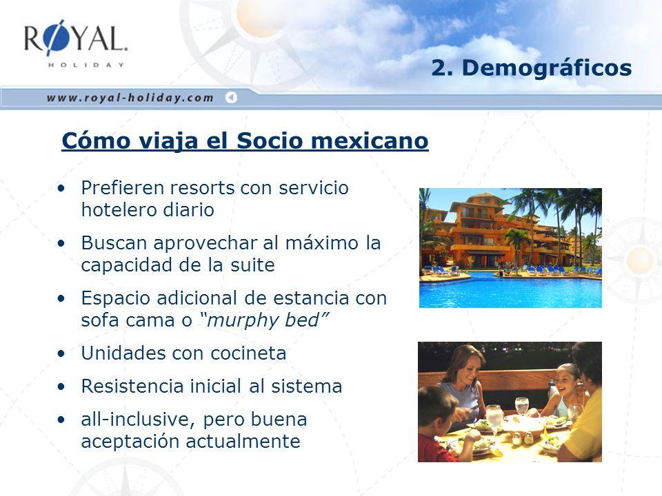 Cómo viaja el Socio mexicano