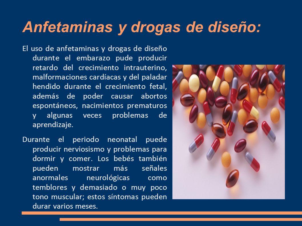 Anfetaminas y drogas de diseño: