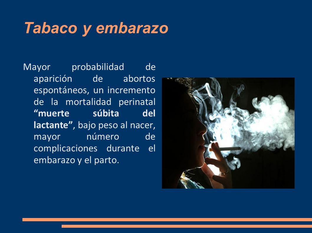 Tabaco y embarazo