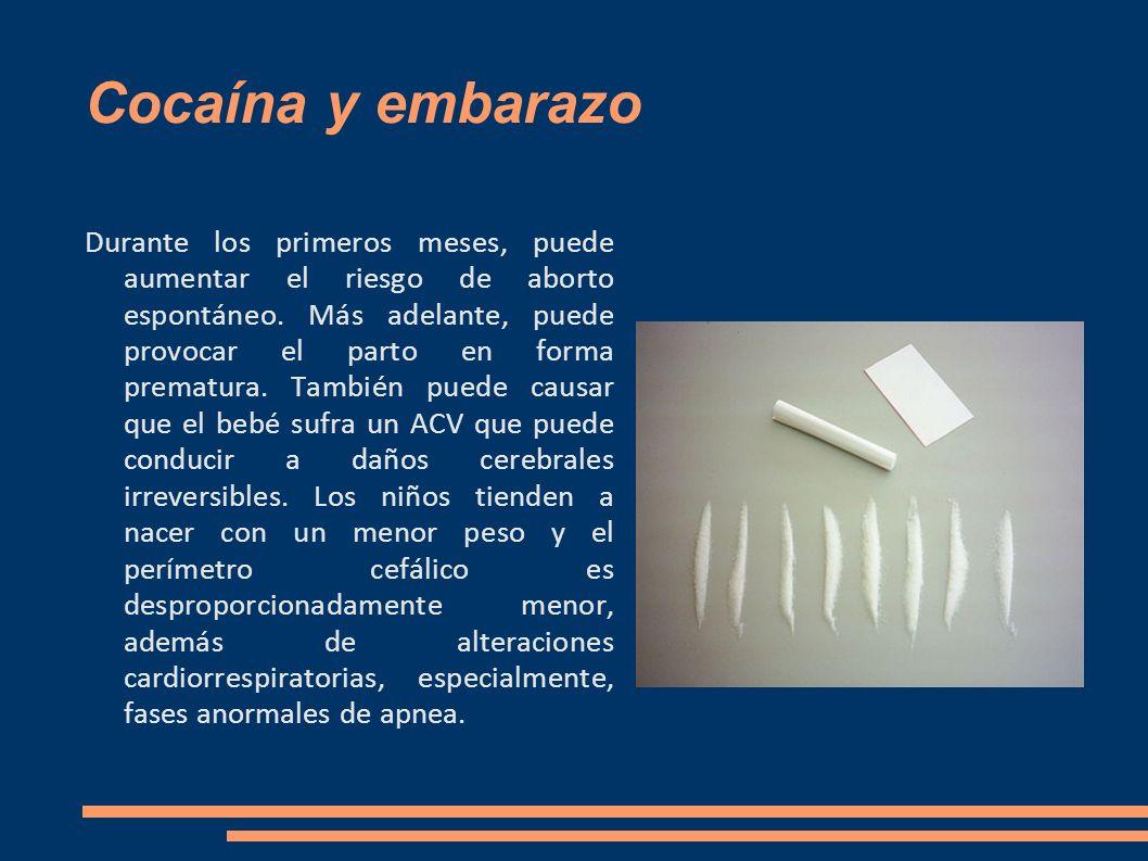Cocaína y embarazo
