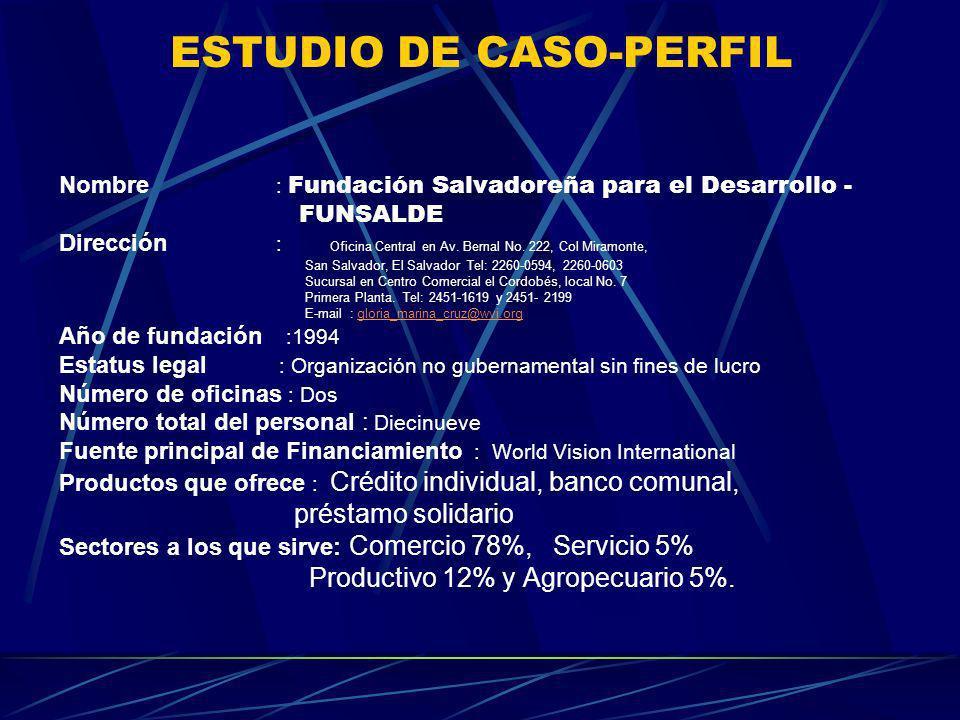 ESTUDIO DE CASO-PERFIL
