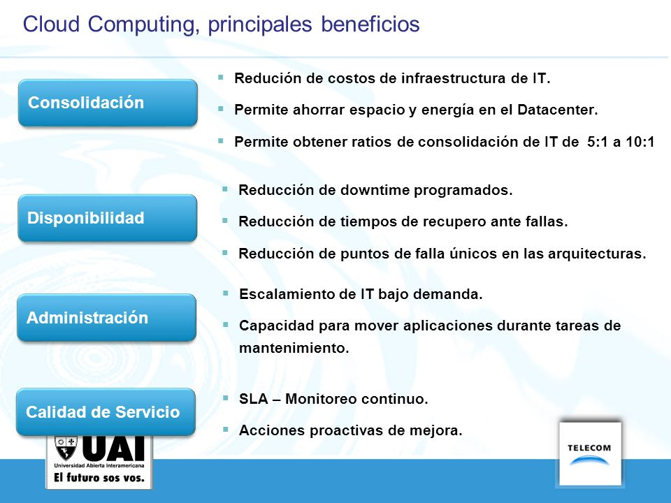 Cloud Computing, principales beneficios