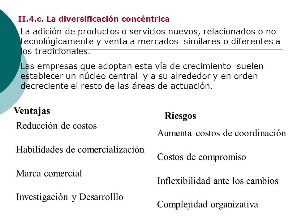 II.4.c. La diversificación concéntrica