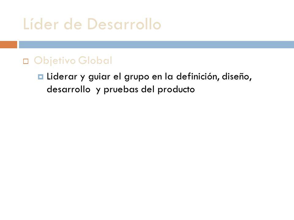 Líder de Desarrollo Objetivo Global