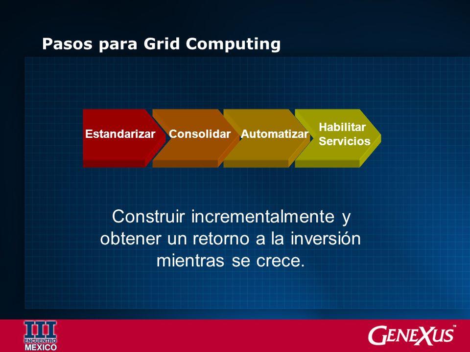 Pasos para Grid Computing