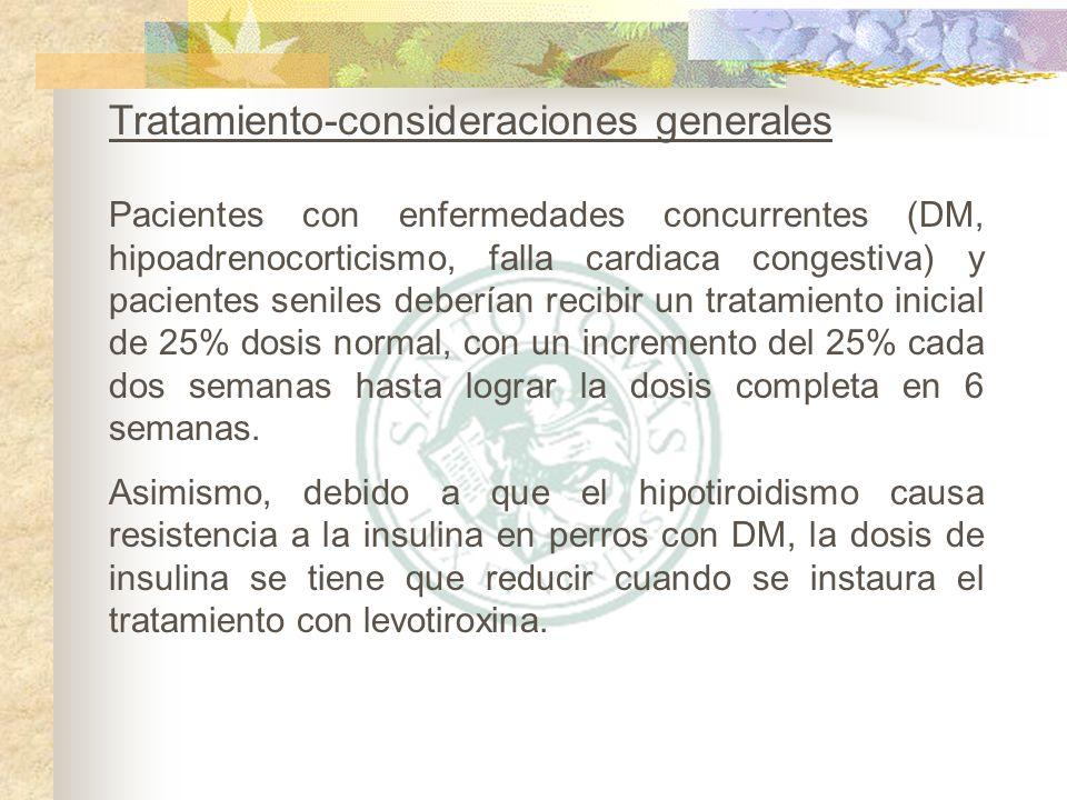 Tratamiento-consideraciones generales