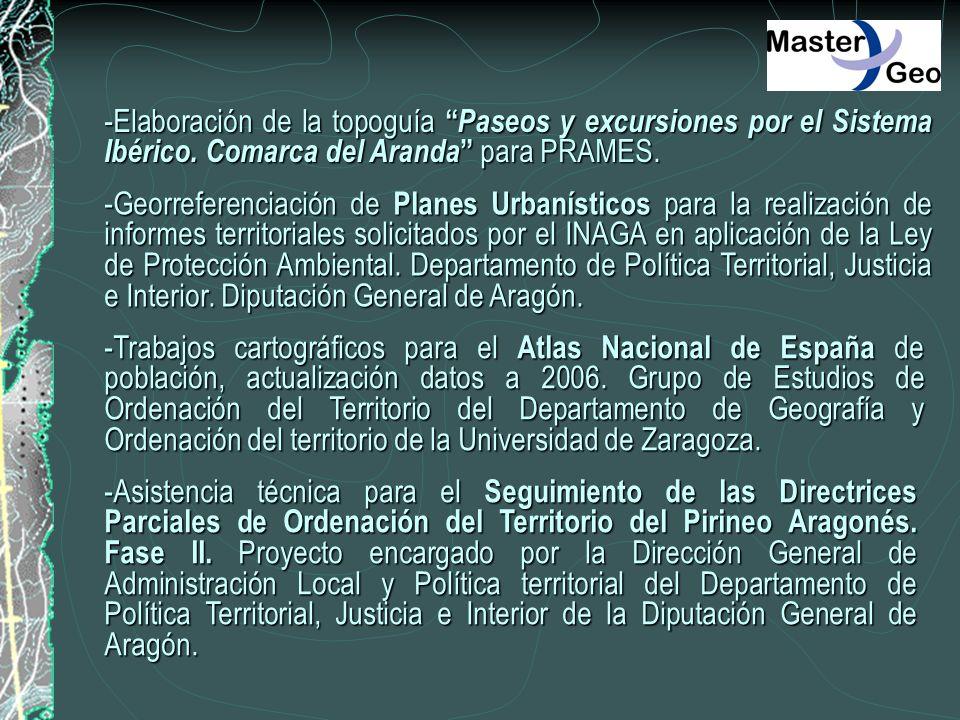 -Elaboración de la topoguía Paseos y excursiones por el Sistema Ibérico. Comarca del Aranda para PRAMES.
