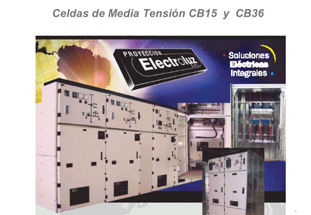 Celdas de Media Tensión CB15 y CB36