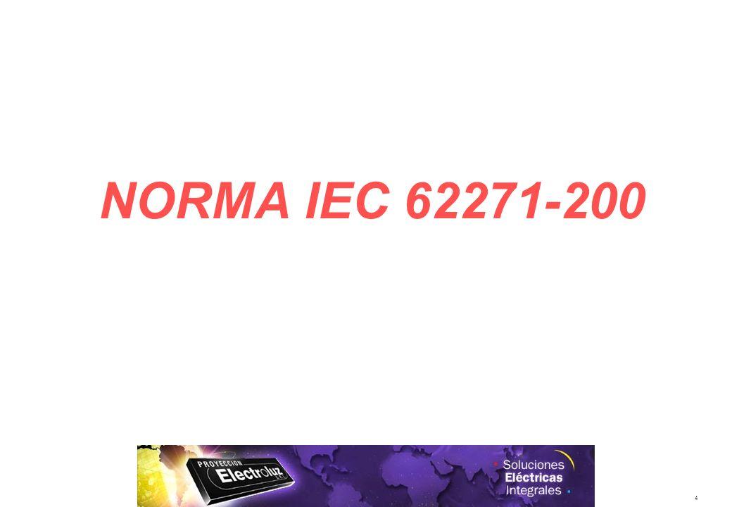 29/03/2017 NORMA IEC 62271-200
