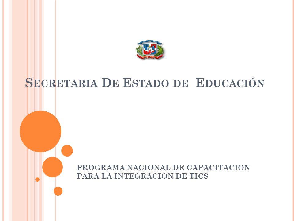 Secretaria De Estado de Educación
