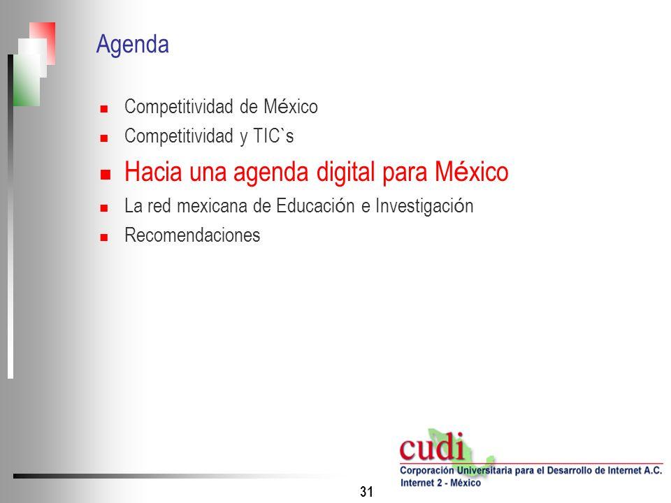 Hacia una agenda digital para México