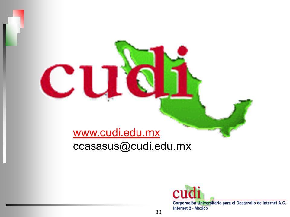 www.cudi.edu.mx ccasasus@cudi.edu.mx