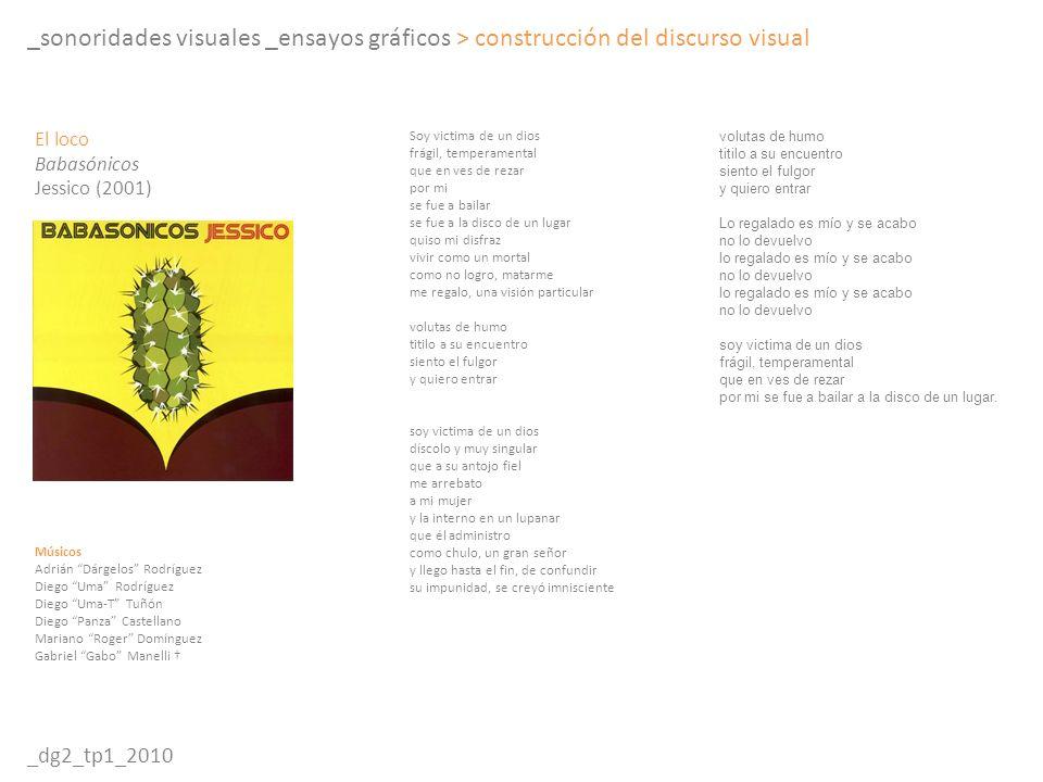 _sonoridades visuales _ensayos gráficos > construcción del discurso visual