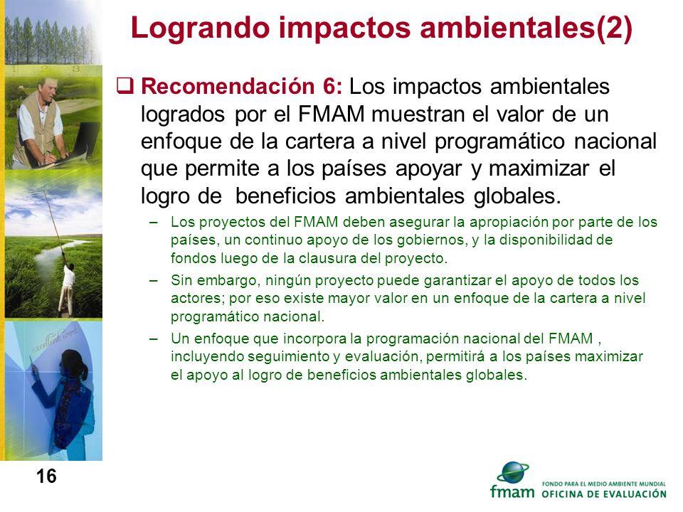 Logrando impactos ambientales(2)