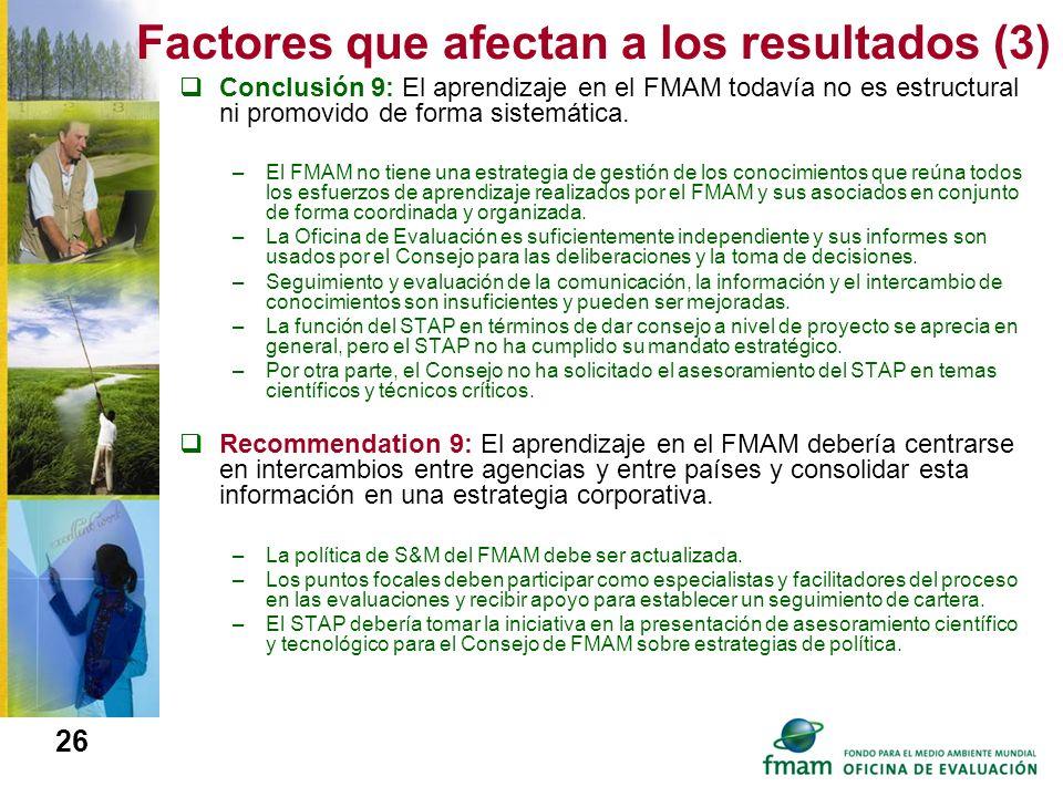 Factores que afectan a los resultados (3)