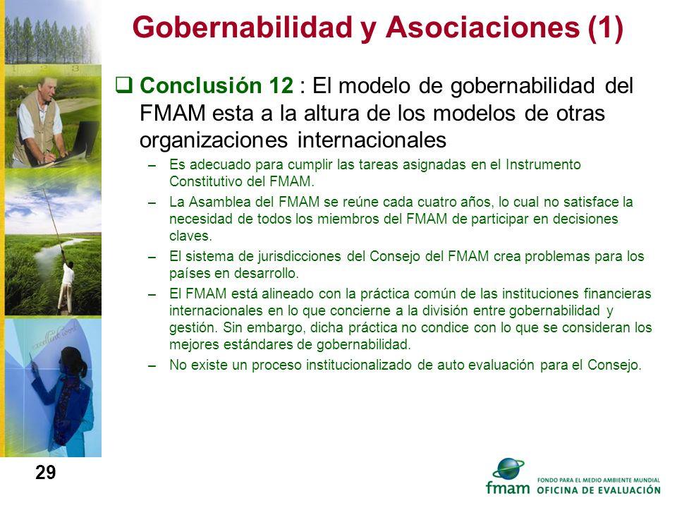 Gobernabilidad y Asociaciones (1)