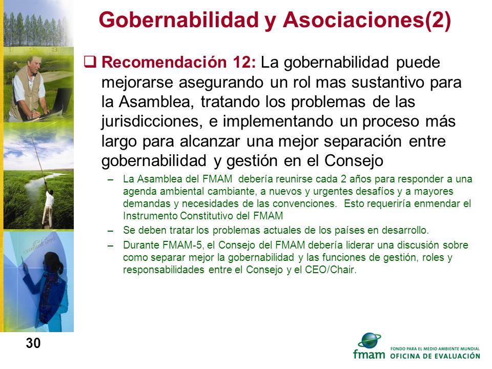 Gobernabilidad y Asociaciones(2)