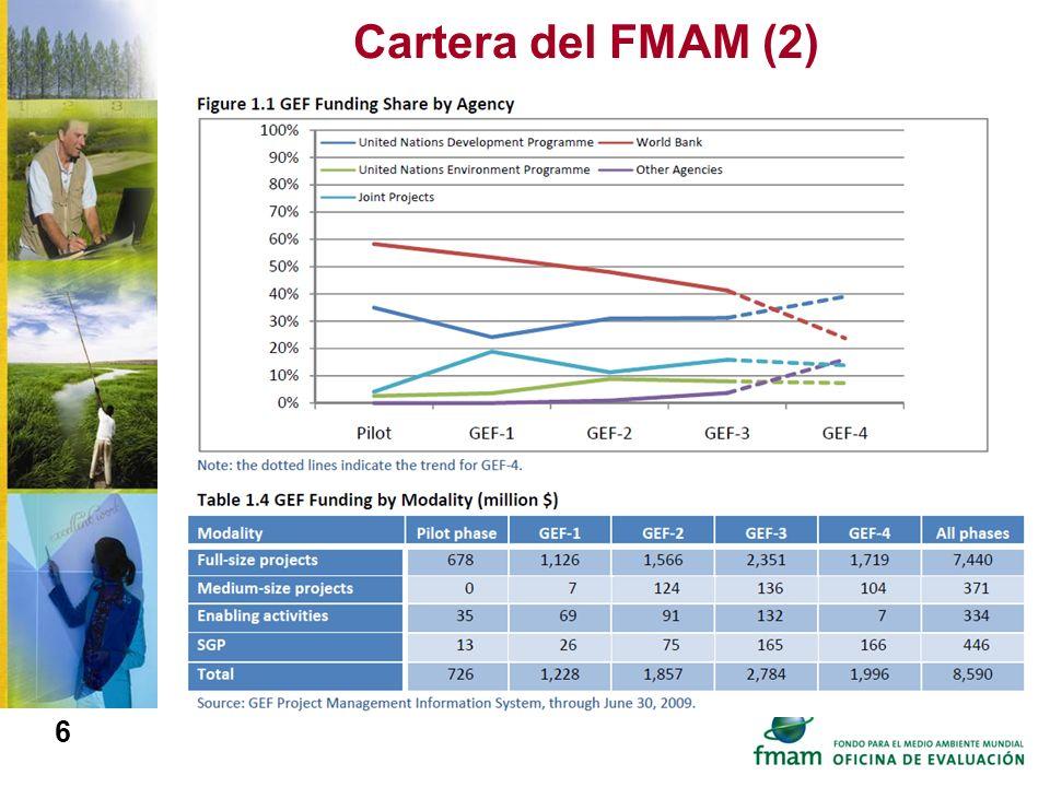 Cartera del FMAM (2)