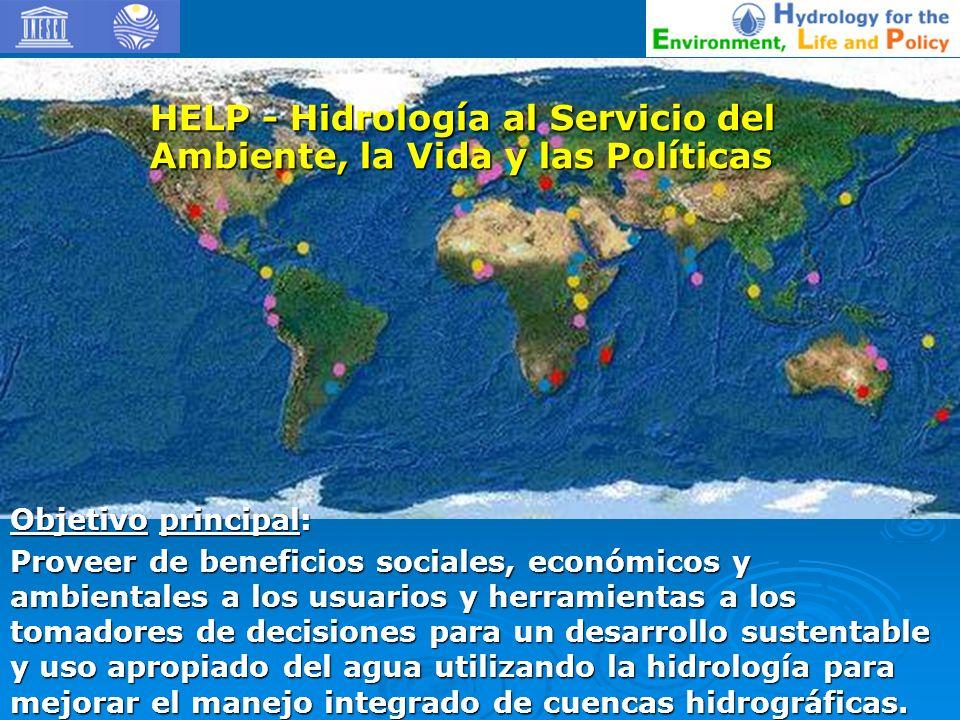 HELP - Hidrología al Servicio del Ambiente, la Vida y las Políticas