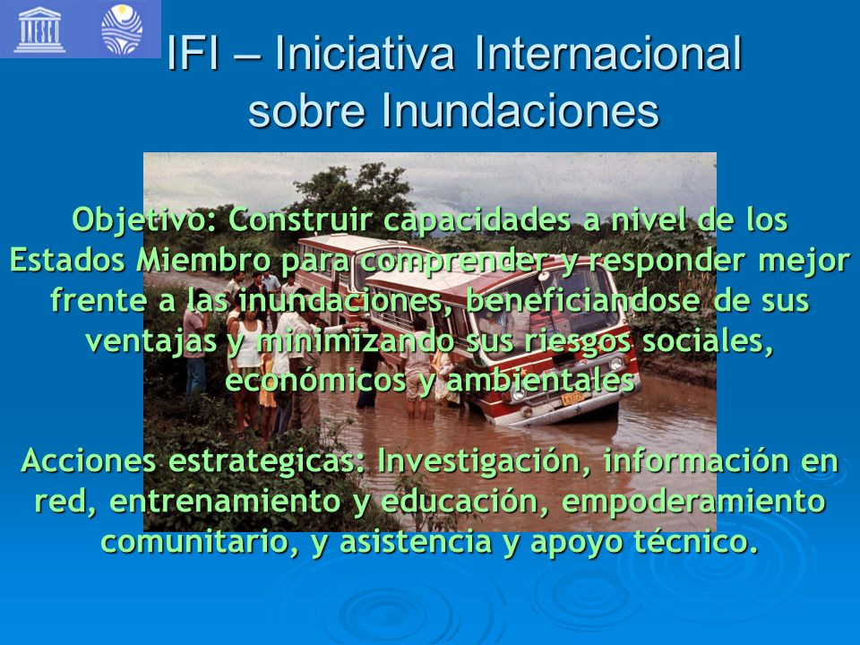 IFI – Iniciativa Internacional sobre Inundaciones